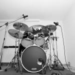 Oldschool Schlagzeug-Abnahme mit 3 Großmembran Kondensator-Mikros von Audiotechnica